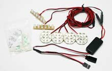 Sistema luces LED para Coche 1:5 y 1:8 G.T. POWER