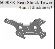 60008r - Rear Shock Tower