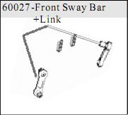 60027 - Front Sway Bar+Link