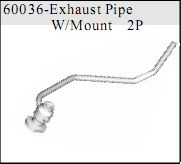 60036 - Exhaust Pipe Mount