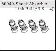 60040 - Shock Absorber Link Ball?5.8