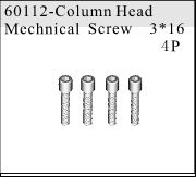 60112 - Cap Head Self-tapping Screw 3*16 4P