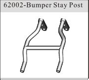 62002 - Bumper Stay Post