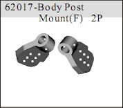 62017 - Body Post Mount frontales