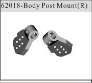62018 - Body Post Mount traseros