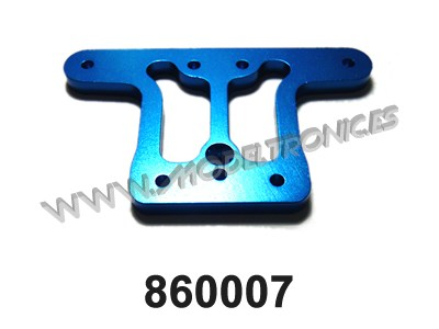 860007 - Blue Alloy Front Top Plate