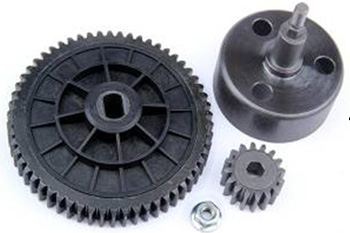 95078 -  New upgraded clutch bell gear set ( torque 16/58)