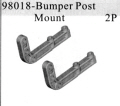 98018 - Bumper Post Mount 2P