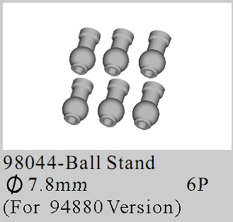 98044 - Suspersion Arm Balls ?7.8mm 4P