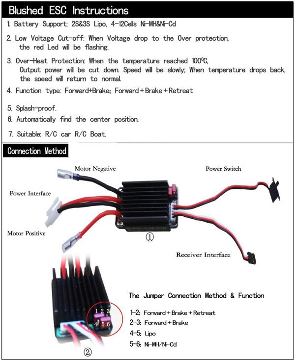 Monster 4x4 1:10 Brontosaurus HSP a 2.4 GHz. Camión azul-negro-17