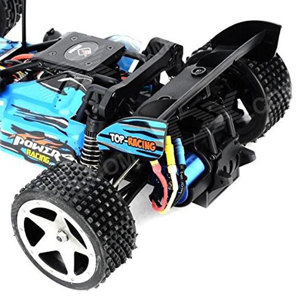 L959 WLtoys coche buggy 1:12 con batería LIPO y emisora 2.4GHZ AZUL-0