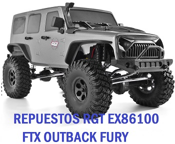 Repuesto RGT EX86100 FTX OUTBACK