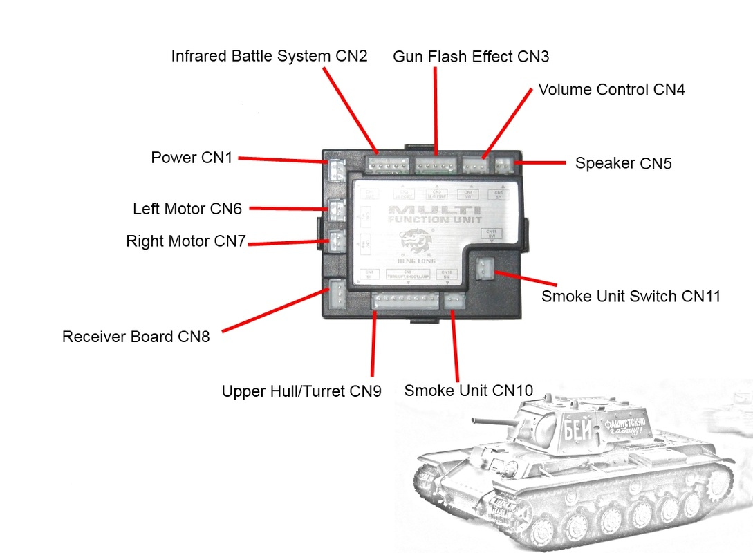 Rc Tank Diagram Wiring Diagrams Circuit Board For Heng Long Tanks Metal Plane