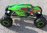 18095 - Carroceria HSP  de Monster o Crawler 1/10 SPORT VERDE