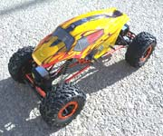 18098 - Carroceria HSP  de Monster o Crawler 1/10 SPORT NARANJA