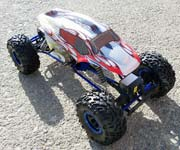 18099 - Carroceria HSP  de Monster o Crawler 1/10 SPORT PLATA