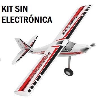 Avión RC entrenador TRAINSTAR ASCENT 1400mm Volantex 747-8 versión KIT SIN ELECTRONICA
