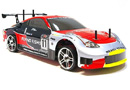 COCHE DRIFTING 1:10 HSP FLYING FISH a 2.4 GHz ROJO-PLATA LIPO VERSION