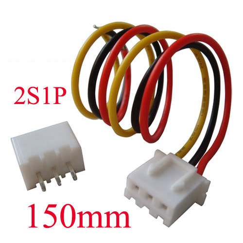 Cable 2s1p JST XH conector Balanceo macho-hembra 7,4V 2S