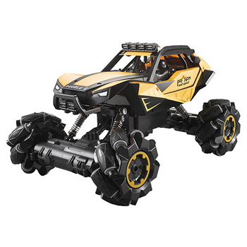 Coche Buggy Omnidireccional E334-003 1:18 DOUBLE-E AMARILLO