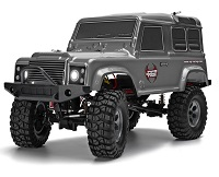 Land Rover RGT 1:10 Rock Crawler 4x4 RC4 GRIS Todo caminos