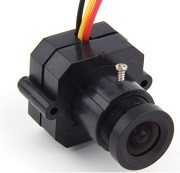 "Mini Camara FPV sensor CMOS 1/3"" color HD 600TVL PAL"