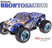 Monster 4x4 1:10 Brontosaurus HSP LIPO 2.4G Pickup Azul