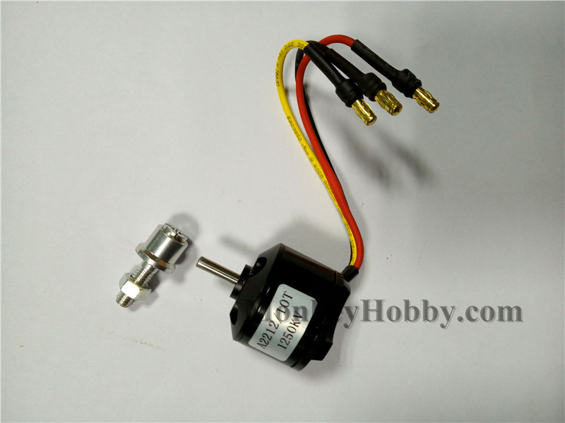 Motor NEGRO brushless 2212 / 1250KV 747-1