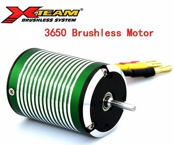 Motor brushless coches 1/10 X-TEAM 3650 4 polos 3650KV Waterproof 1300W