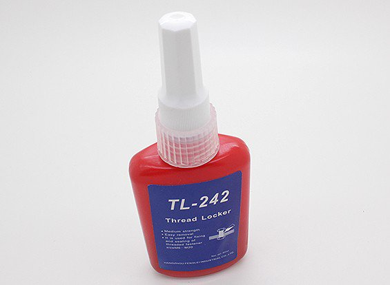 TL-242 Fijatornillos y sellador de resistencia media 50ML