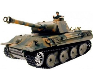 Tanque radio control 1:16 German Panther airsoft con humo y sonidos 2.4G 5.3v 3819-1 Heng Long