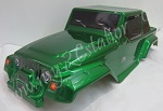 10315 Carroceria Jeep Verde Monster/Crawler 1:10  41x15.5cm