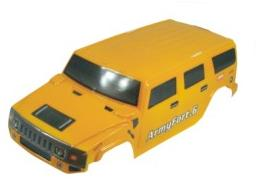 88115- Carroceria monster 1:10 hummer amarilla