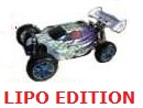 [TOP Li-Po] BUGGY 1:8 Planet Brushless LIPO EDITION llamas azul