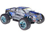 Monster 4x4 1:10 Brontosaurus HSP a 2.4GHz azul-negro