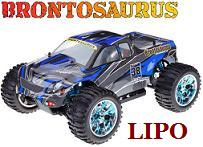 [TOP Li-Po] MONSTER 1:10 BRONTOSAURUS PRO LIPO EDITION AZUL-NEGR