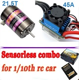 Combo brushless Crawlers 1/10 E-FLY B540-21.5T 1480KV 45A