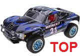 [TOP Li-Po] Rally Short Course 1:10 PRO LIPO EDITION 80km/h LIPO 3S 11,1V AZUL NEGRO