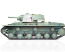Tanque militar ruso RC Heng Long 1/16 Russian KV-1 dispara bolas Airsoft 2.4G 3878-1