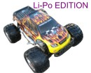 "[TOP Li-Po] MONSTER 1:8 HSP NOKIER BRUSHLESS LIPO EDITION"" Negro"