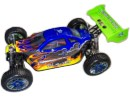[TOP Li-Po] BUGGY 1:8 Planet Brushless LIPO AZUL-FUEGO