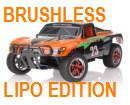 [TOP Li-Po] Rally Short Course 1:10 PRO LIPO EDITION naranja-carbón 80km/h LIPO 3S 11,1V