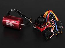 Combo brushless TrackStar 3520kv 80A coches 1:10