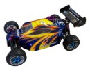 Buggy 1:10 HSP WARHEAD 2.4 GHz+CHISPO+1L Azul-amarillo