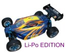 [TOP Li-Po] Buggy brushless HSP 1:10 XSTR PRO LIPO EDITION 80km/h Azul