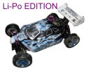 [TOP Li-Po] Buggy brushless HSP 1:10 XSTR PRO LIPO EDITION 70km/h Azul-blanco