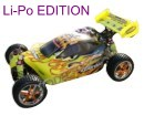 [TOP Li-Po] Buggy brushless HSP 1:10 XSTR PRO LIPO EDITION 70km/h Naranja-amarillo