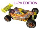 [TOP Li-Po] Buggy brushless HSP 1:10 XSTR PRO LIPO EDITION 80km/h Naranja-plata