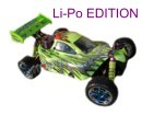 [TOP Li-Po] Buggy brushless HSP 1:10 XSTR PRO LIPO EDITION 80km/h  Verde