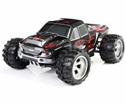Coche Monster Truck A979 1:18 RTR 2.4 GHz Wltoys NEGRO-ROJO